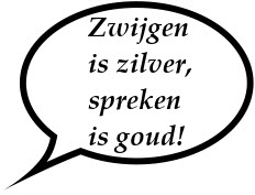 Zwijgen_is_zilver_spreken_is_goud - Logopedie Grave