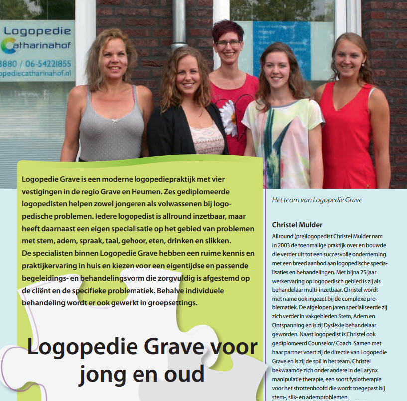Brochure - Logopedie Grave