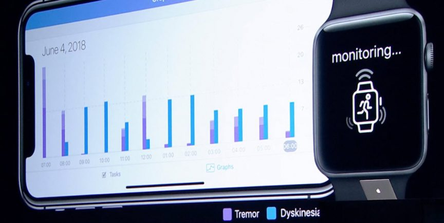 Apple watch - Parkinson-symptomen - Logopedie Grave